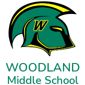 Woodland Middle School Trojan Logo