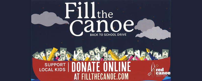 Help support Woodland kids by donating at www.fillthecanoe.com