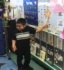 Dual Language Students at Columbia Elementary School