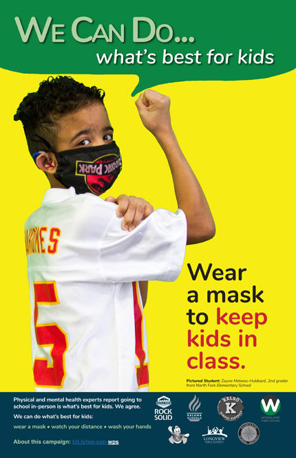 Wear a Mask with Zayne Melwes-Hubbard from North Fork
