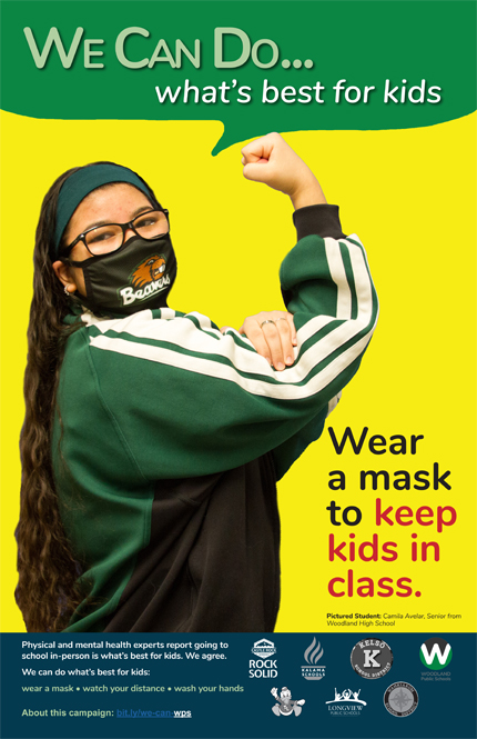 Wear a Mask with Camila Avelar from Woodland High School