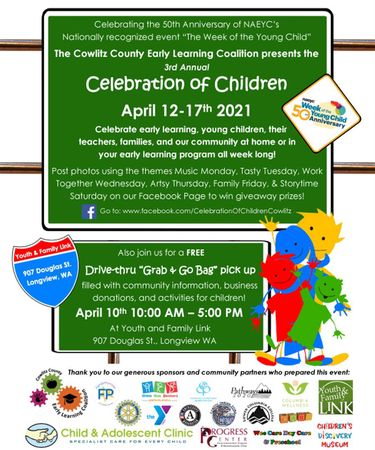 Click here to download a printable PDF flier of the Celebration of Children event